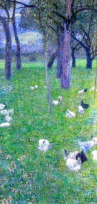 Después de la Lluvia - Gustav Klimt