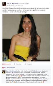 Homenaje de Pili de Quintero para mí en el mes de la mujer (completo)